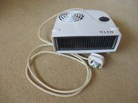 Electric Fan Heater, Brand Glen. White