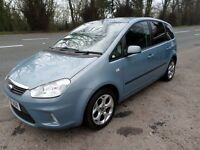 2008 FORD C-MAX ZETEC 1.8 DIESEL AMAZING ON FUEL IDEAL FAMILY CAR VERY CLEAN CAR MOT MARCH 2018