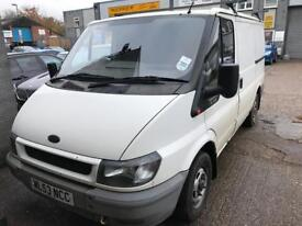 Ford transit 260 53 reg new mot drives well 105k miles last owner was a school