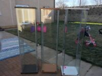 Ikea glass display cabinets good condition. £25 each