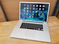 17' Apple MacBook Pro 2.8GHz 4gb 320GB HDD Final Cut Pro X Logic Pro X Sibelius Ableton Pro Tools 10