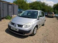 2005 RENAULT SCENIC. 1.6 PETROL. 11 MONTHS MOT. PX WELCOME