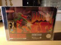 DooM Super Nintendo SNES Boxed!