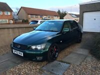 2003 Lexus IS200 Sport Manual (MOT Apr2018 / iPod Connectivity / Great Car)