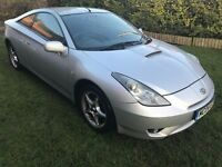 Fantastic Value 2004 Celica 1.8 VVti 107000 Miles MOT Sept 17 Air Con 6 Speed Reliable Japanese Car