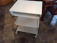 White Work Station/ Computer Table