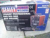 New Sealey 150 Super Mig