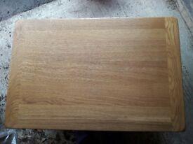 Solid Oak Rectangular Coffee Table