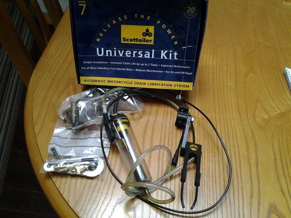 scottoiler universal kit for oiling bike chains | in Laurencekirk,  Aberdeenshire | Gumtree