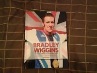 Hardback Bokk. BRADLEY WIGGINS - THE STORY OF BRITAIN'S GREATEST-EVER CYCLIST.