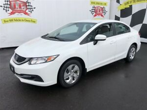 2015 Honda Civic Sedan LX, Automatic, Heated Seats, Bluetooth