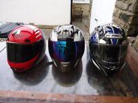 Crash helmets for sale make me an offer