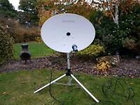 Maxiview satalite dish and stand