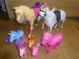 Bundle of horses