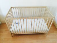 95% NEW Infant/baby bed