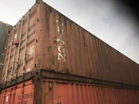 Choice of 40ft shipping storage containers