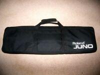 Roland Juno 61 , Original Gig Bag / Juno D , Juno Di , Juno DS , Roland FA06 and other / Black.