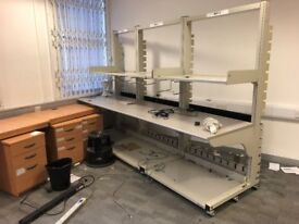 Professional workshop mobile benches