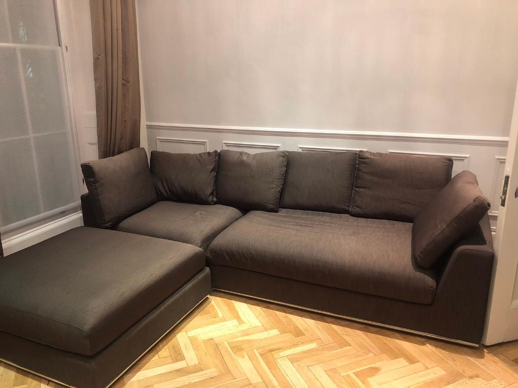 Dwell Brown Modular Sofa In Westminster London Gumtree
