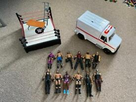 WWE Wrestling figures, toys and accessories