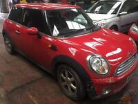 2008 Mini Cooper One 1.4 petrol 12 months MOT bargain not Audi BMW Vw