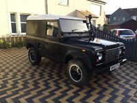 Land Rover Defender 90, Discovery 300 TDI conversion.