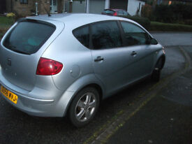 Seat Altea 1.6 petrol 99200miles, cambelt+water pomp done 90000