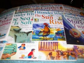 """Childrens Books- 2 sets of """" I Wonder Why."""" and """"Smelly Science"""" 24 books."""