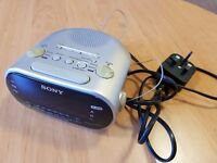 Sony LED Dual Alarm Clock Radio