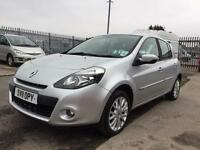 2011 Renault Clio 1.2 petrol 5 door hatchback 12 months mot genuine low mileage