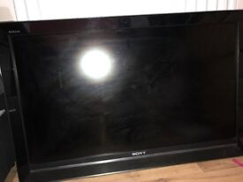 SONY Bravia LCD /flat screen with wall mount.