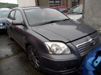 toyota avensis d4d parts from 3 cars grey and gold