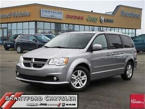 2016 Dodge Grand Caravan Crew Plus    Leather    Power Sliders