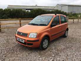 2008 FIAT PANDA DYNAMIC MULTIJET 1.3 DIESEL, F/S/H, £30 TAX A YEAR,working a/c