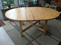 IKEA DINING TABLE & CHAIRS (Birchwood)