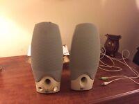 PC computer Speakers Compaq - bargain!