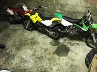 All three for sale Honda cr 85---suzuki rm 85---kawasaki kx 85