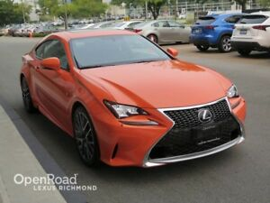 2015 Lexus RC 350 F Sport  2 Package - Certified