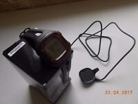 GARMIN Forerunner 10 GPS Watch. Excellent condition, as new. With box, instructions and USB charger.