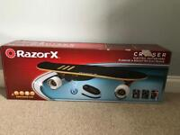 BNIB Razor X Cruiser Electric Skateboard
