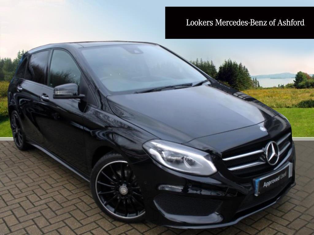 mercedes benz b class b 200 d amg line premium plus black 2016 05 18 in ashford kent gumtree. Black Bedroom Furniture Sets. Home Design Ideas