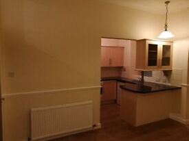 Ground floor unfurnished 2 bed flat to rent