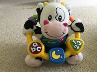 V tech moosical cow and little singing Alfie toys