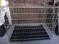 MEDIUM/LARGE METAL DOG CRATE