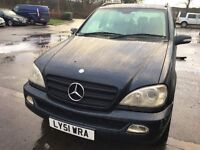 Mercedes ml 270 cdi very god condision 7 seater