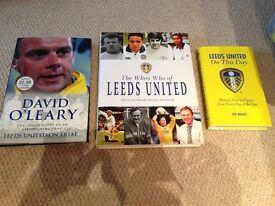Leeds United Books x 3,