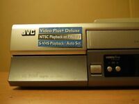 JVC HiFi VCR - Nicam Stereo HR-V605 - Video Player/Recorder