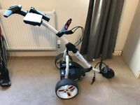 Motocaddy S1 Pro 18-hole Lithium Battery Electric Trolley and accessories