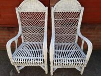 basket chairs