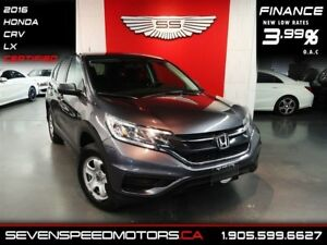 2016 Honda CR-V LX|CERTIFIED|EXISTING HONDA WARRANTY